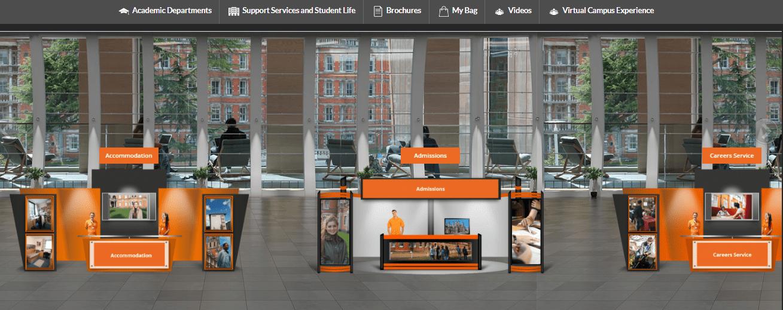 Virtual Booth Area