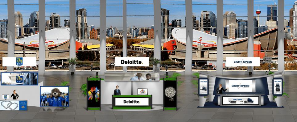 Virtual Career Fair Booth Setup
