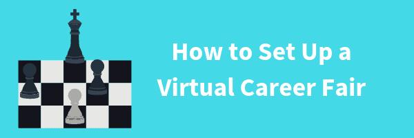 How to set up a virtual career fair