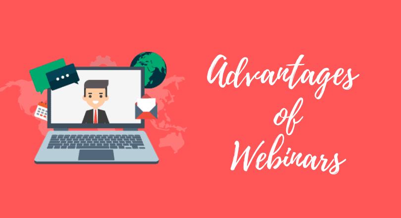 webinar advantages