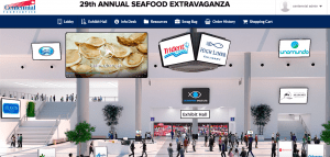 virtual food show lobby