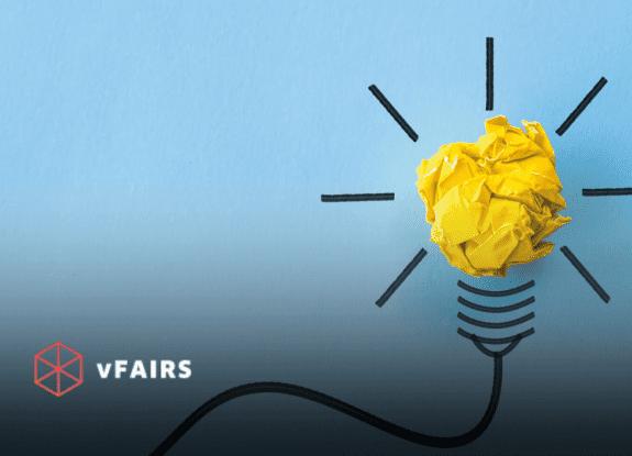 A bulb representing a new idea and creativity