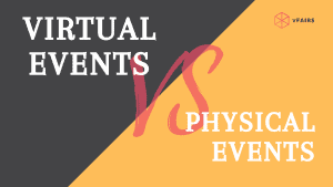 virtual events vs physical events