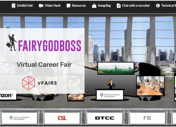 Fairygodboss virtual career fair