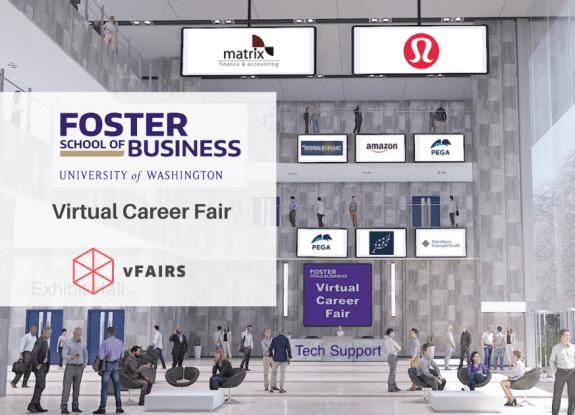 university of washington virtual career fair vfairs