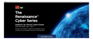 Renaissance Virtual Event Landing Page