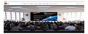 Renaissance webinars in a virtual auditorium