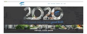 jake's finer foods virtual food show landing page