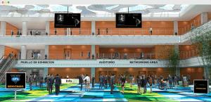 Cerebrus virtual event lobby
