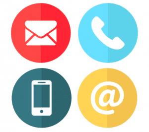 icons of communication methods
