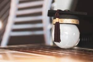 online graduation concept