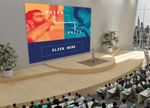 water unite virtual auditorium