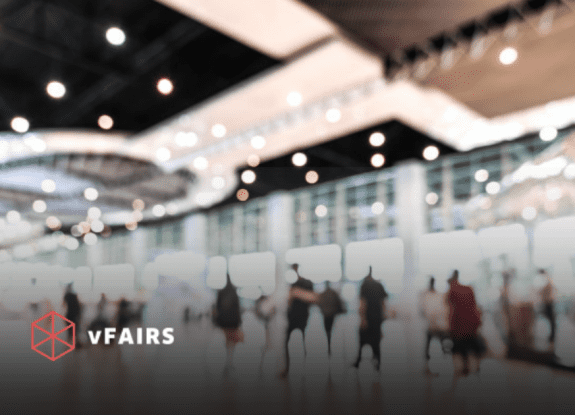 blurred image of job fair