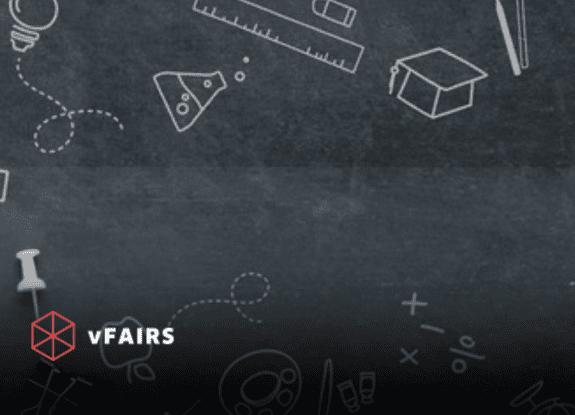 Virtual Education Fair Illustration