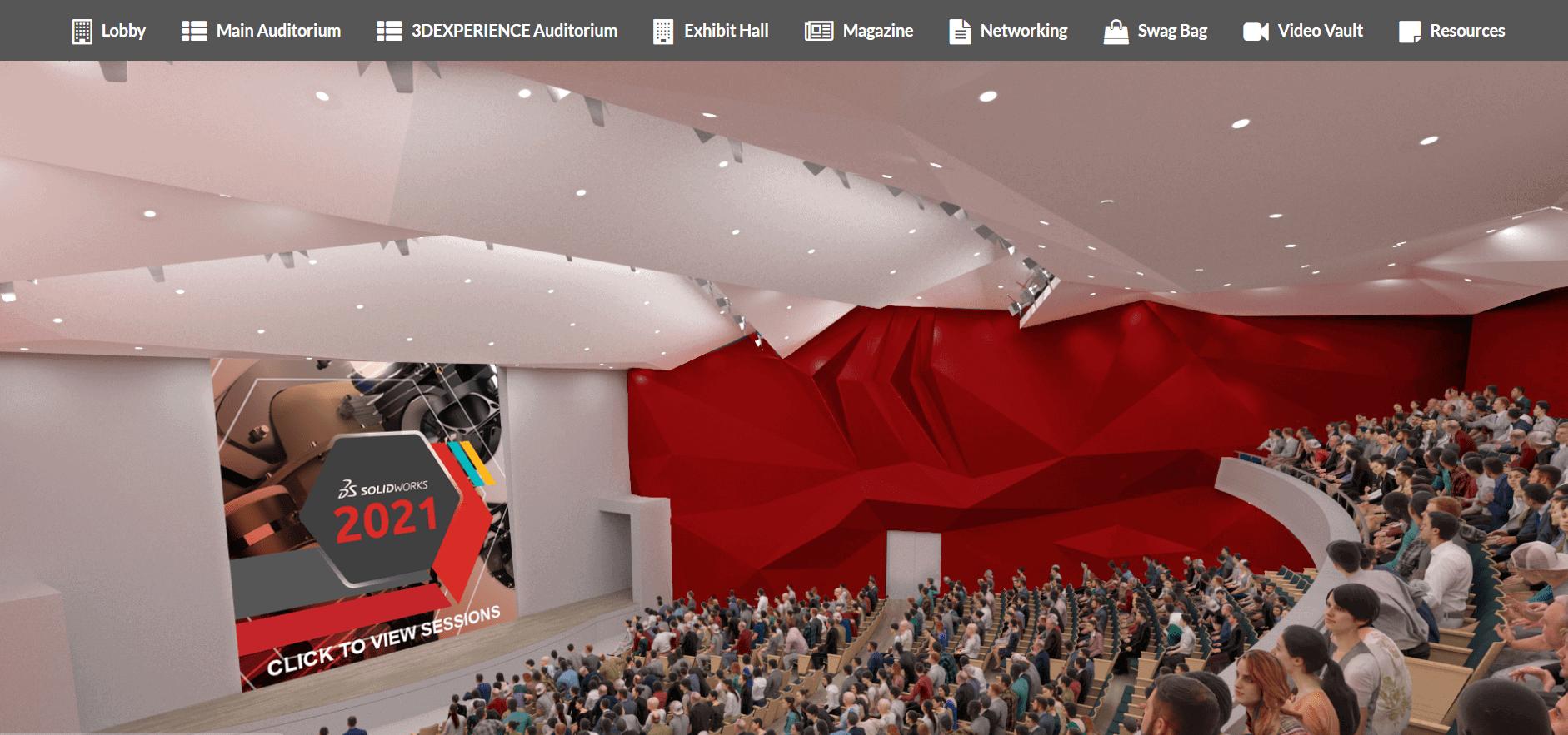 Solid solutions auditorium