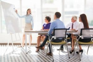 setting goals in a presentation