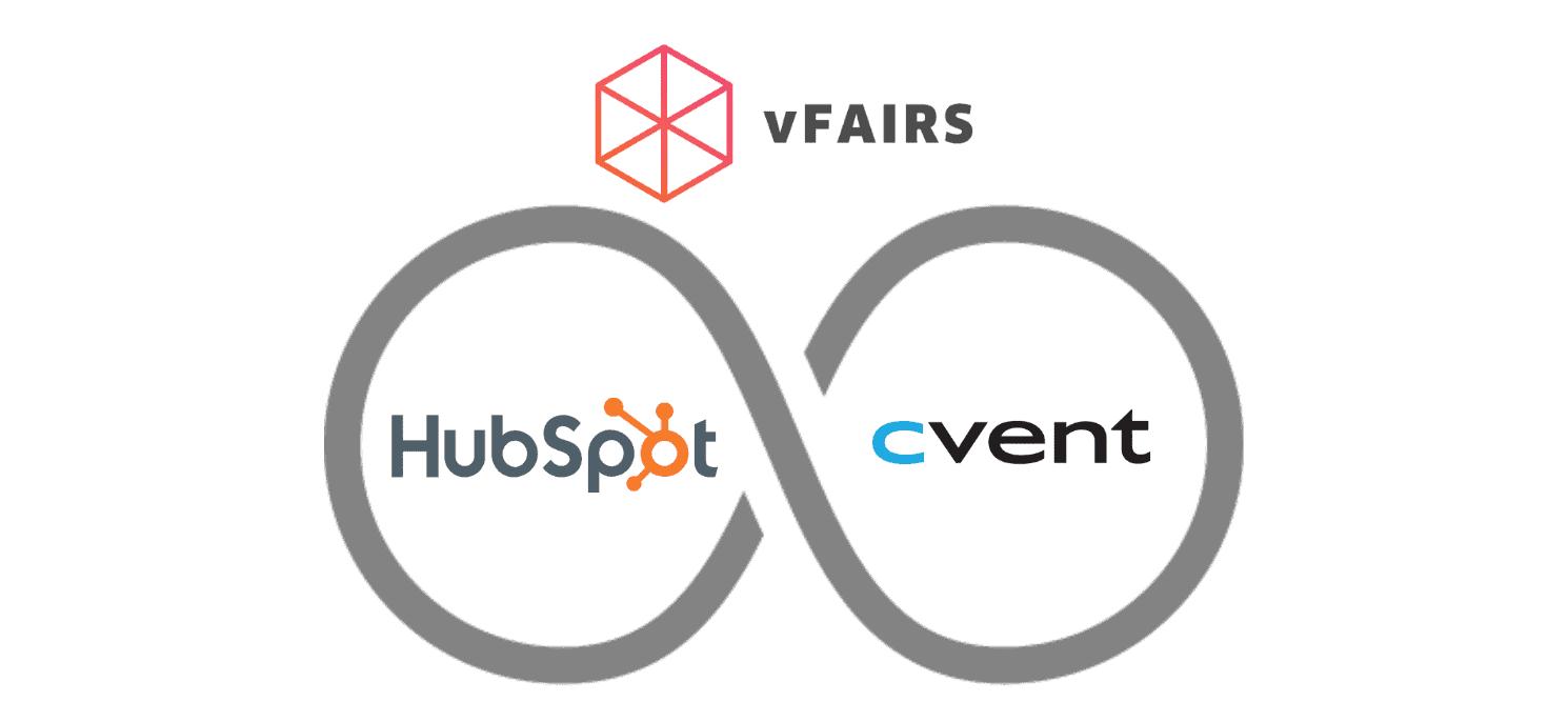 hubspot cvent vfairs logo