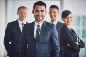employers on a virtual job fair platform