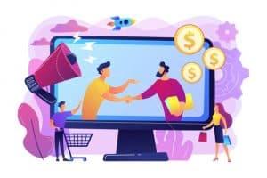 making sales online