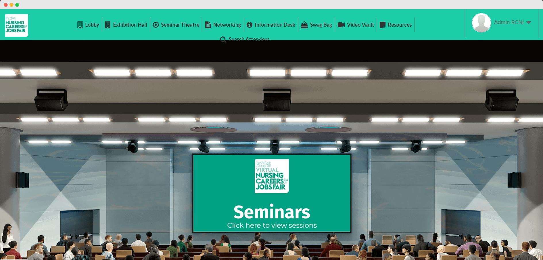 Virtual seminar theatre