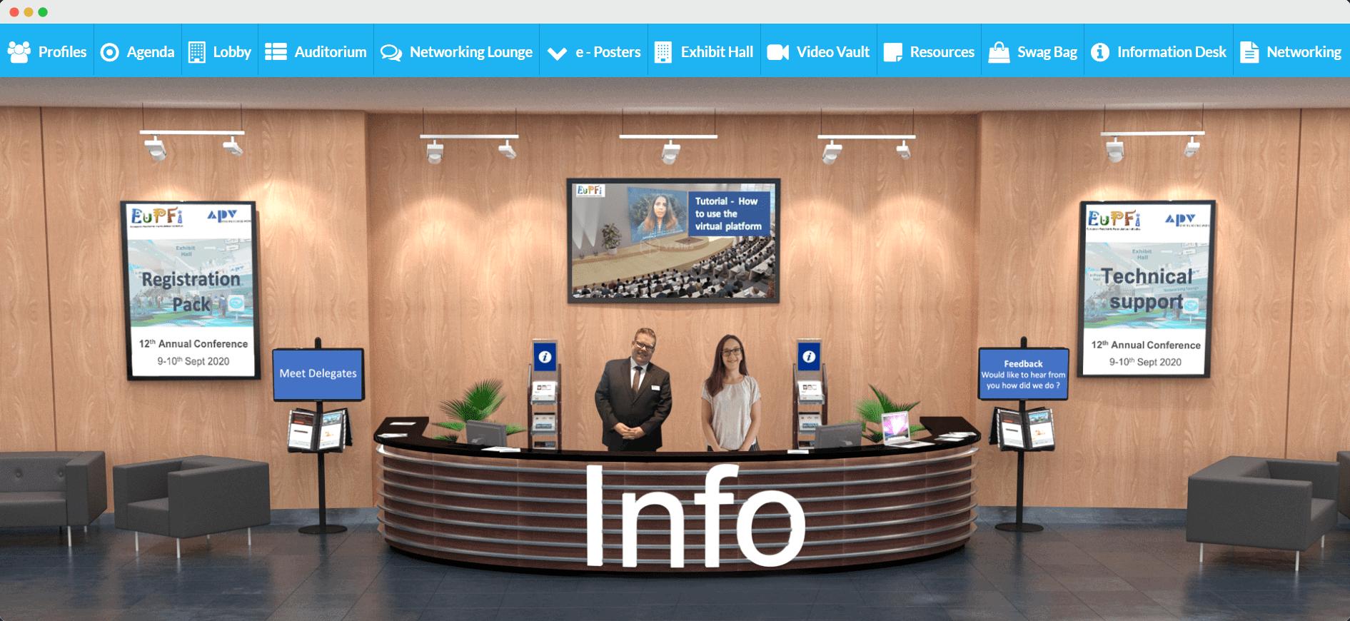virtual Information Desk
