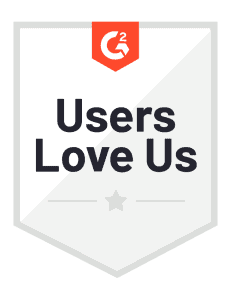 an image of our G2 badge