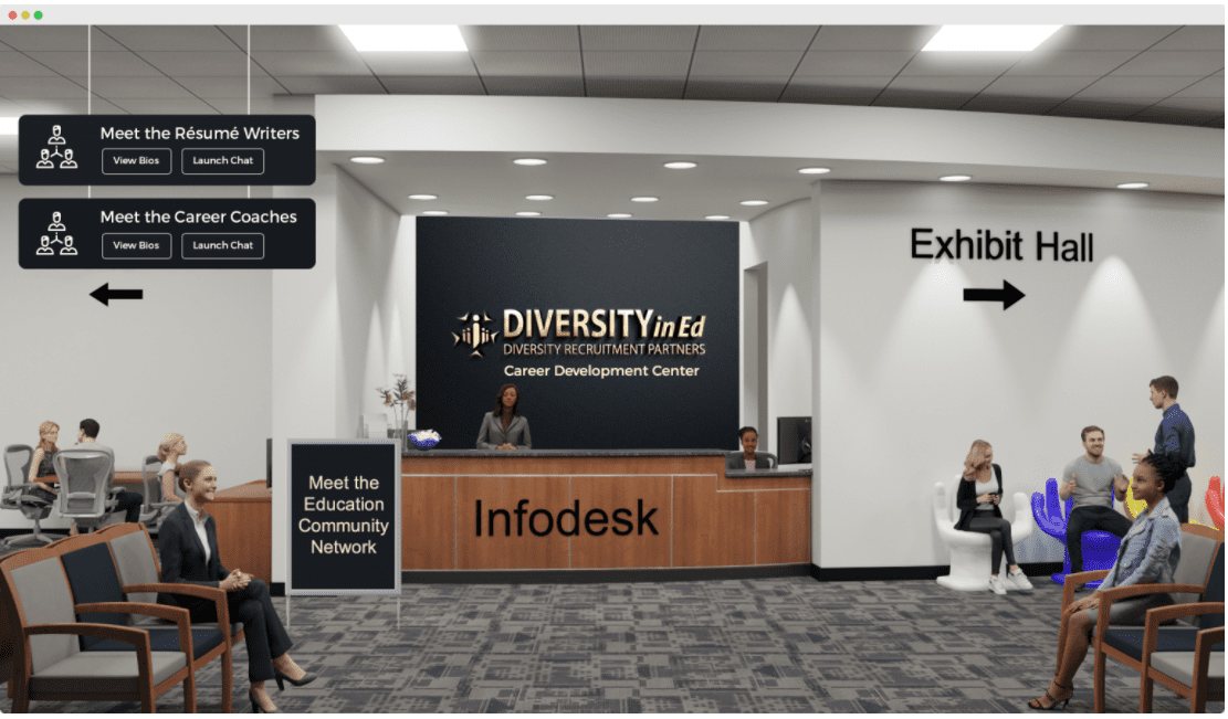 Diversity in Ed virtual infodesk