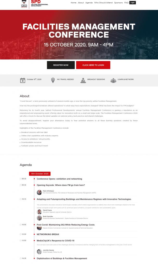 SPD landing page