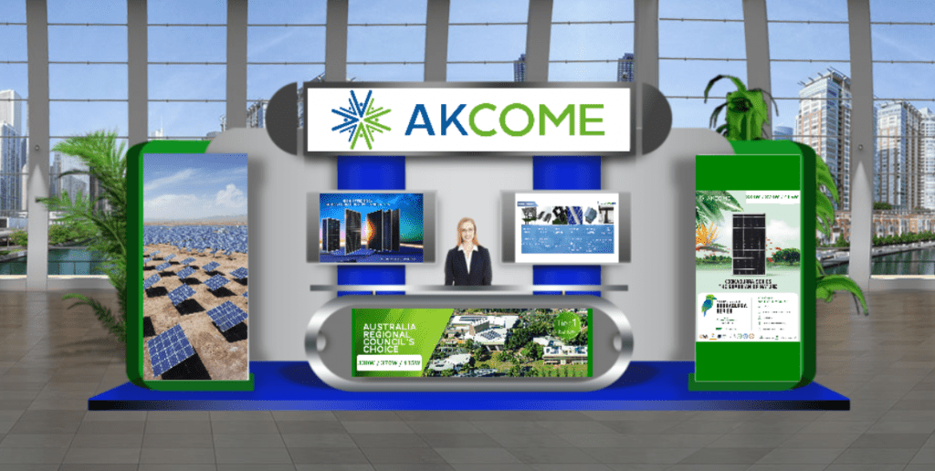 akcome at smart energy conference & exhibition