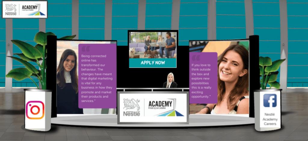 digital marketing at nestle academy