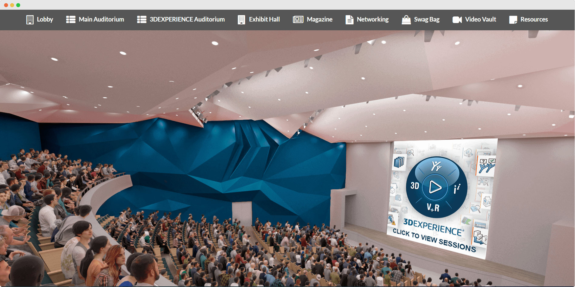 solid solutions virtual auditorium