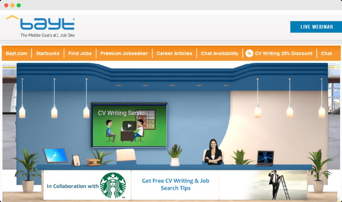 Starbucks virtual job clinic