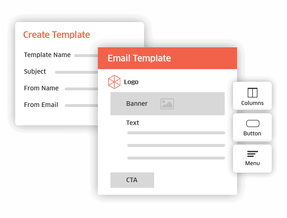 email builder tool for virtual housing fair