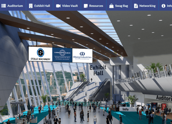 Asia CanTech virtual conference lobby