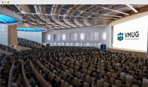 vfairs virtual auditorium