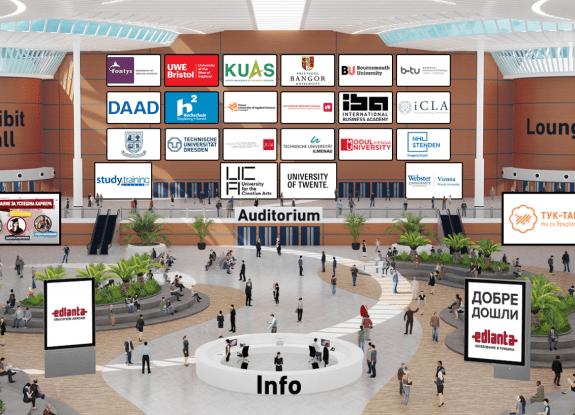 an image of the edlanta virtual education fair