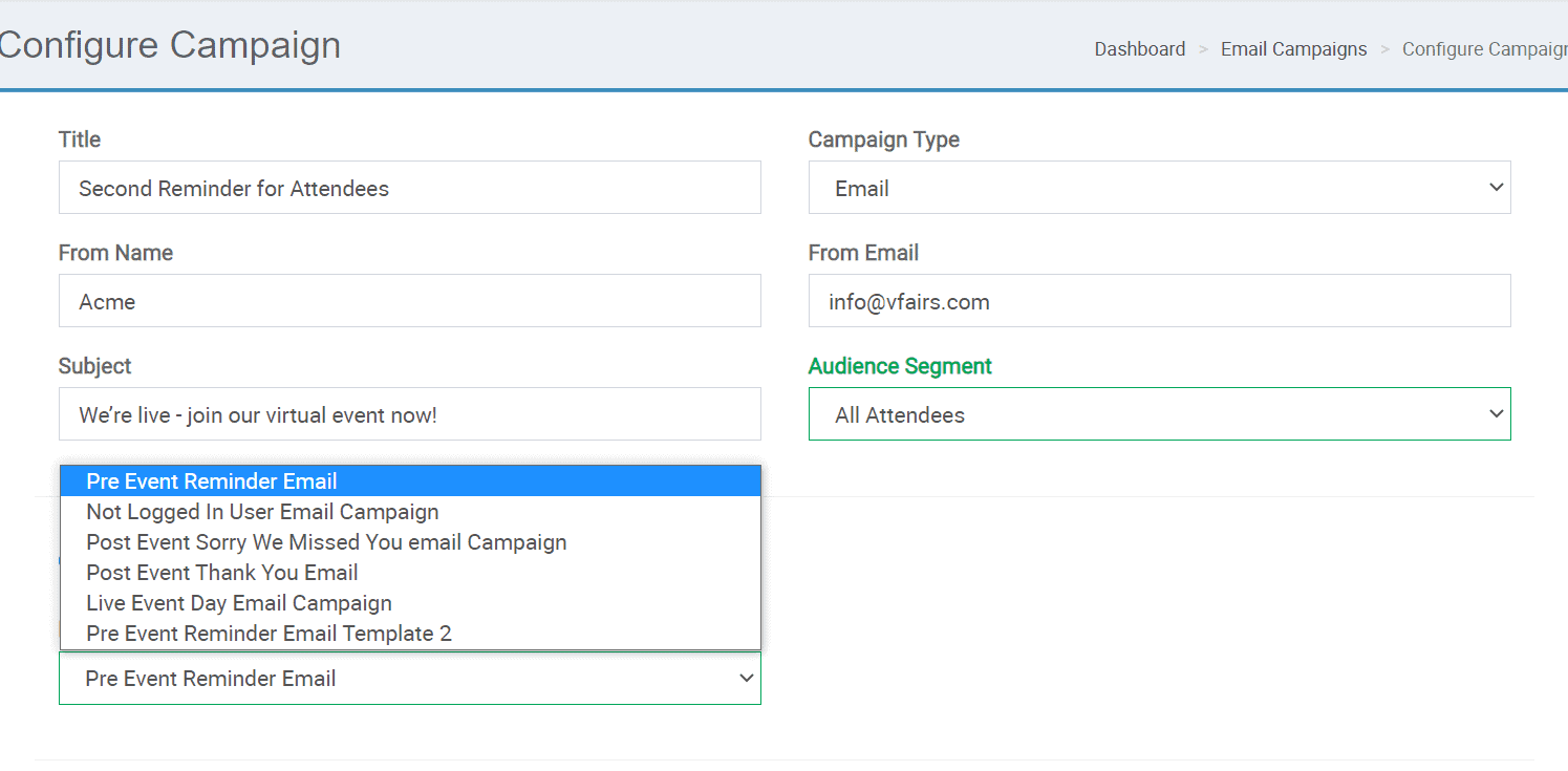 email campaigns for audience segmentation