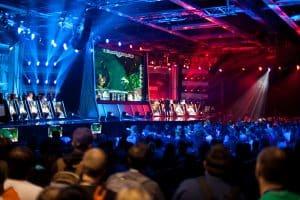 League of legends tournament Image Source: https://www.flickr.com/photos/camknows/15311322780