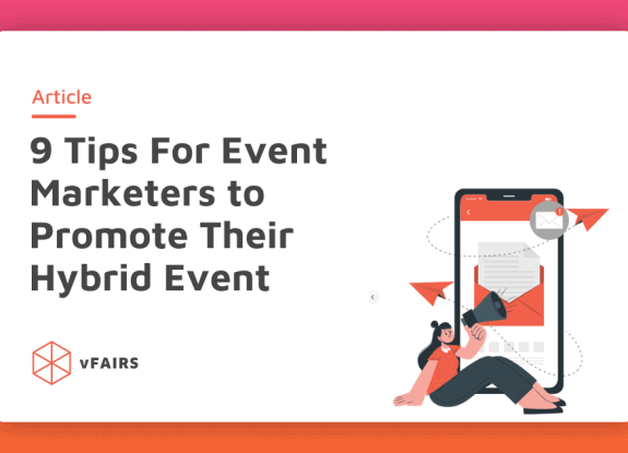 featured image of the blog: tips for event marketers to promote their events