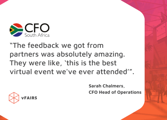 an image of the CFO south africa testimonial