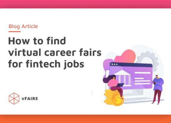 finding virtual career fairs for fintech jobs