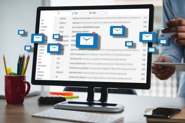 email notifications on desktop