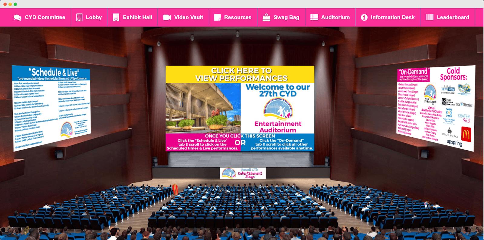 CYD Virtual Auditorium