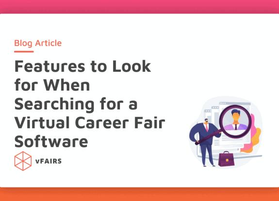 virtual career fair software feature image