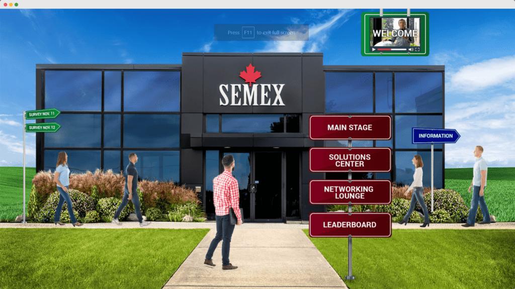 an image of the semex lobby