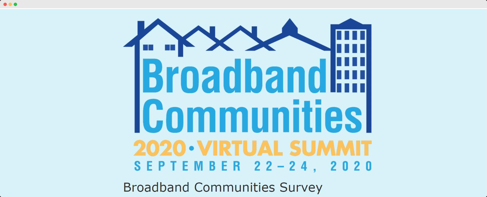 survey at BBC virtual summit