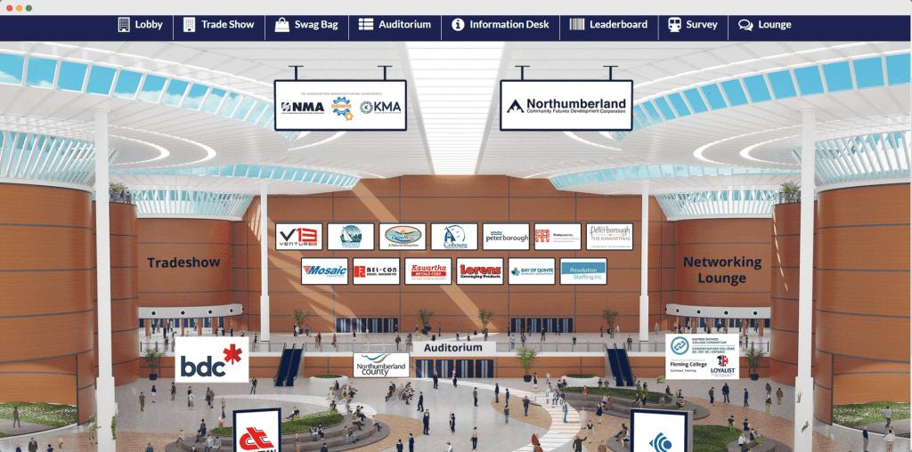 an image of a retailer trade show