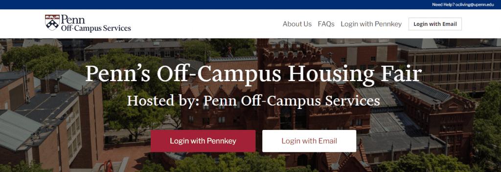 penn off campus service - vfairs