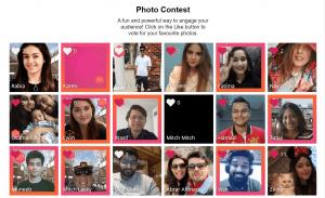 virtusal event platform photo booth