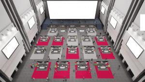 virtual open house hall